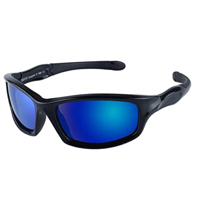94b66d459aa DUCO Kids Sports Style Polarized Sunglasses Flexible Frame For Boys and Girls  K006