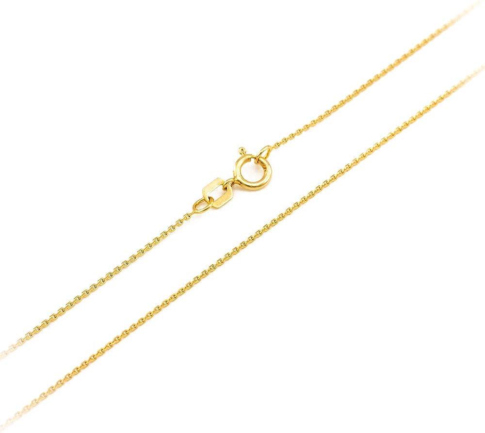 LA BLINGZ 14K Yellow Gold Open Heart Kissing Giraffes Necklace