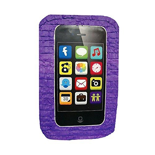 Cell Phone Purple Pinata