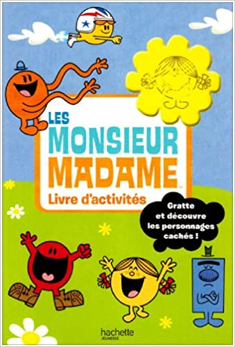Les Monsieur Madame French Edition 9782012252080 Amazon