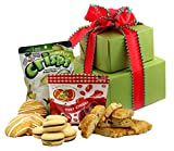 Cheap SMALL – Gluten Free Palace Holiday Delight Gluten Free Gifts Tower ~ Gourmet Gluten Free Gift Baskets with Gluten Free Snacks ~ Gourmet Gifts ~ Gluten Free Care Package ~ Holiday Gift Baskets