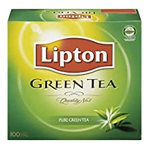 Lipton Pure Green Tea Bags 100 Count