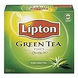 Sachets de thé vert pur de Lipton 100 Count