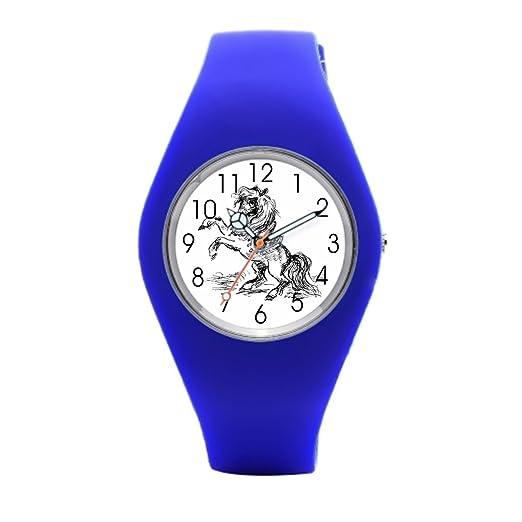 Top Relojes deportivos tiendas de caballos caballo Reloj de pulsera: Amazon.es: Relojes