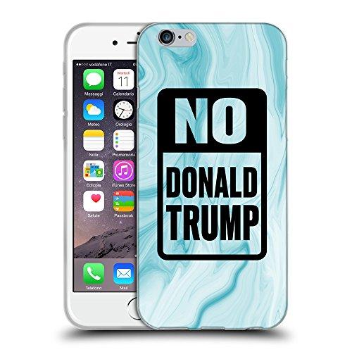 "Super Galaxy Coque de Protection TPU Silicone Case pour // Q04150552 Stop trump Illustration bleu // Apple iPhone 6 4.7"""