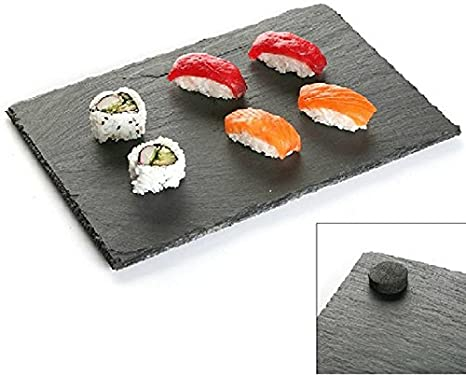 Piatti Cucina In Ardesia : Piatto buffet piano rettangolare da portata sushi in ardesia
