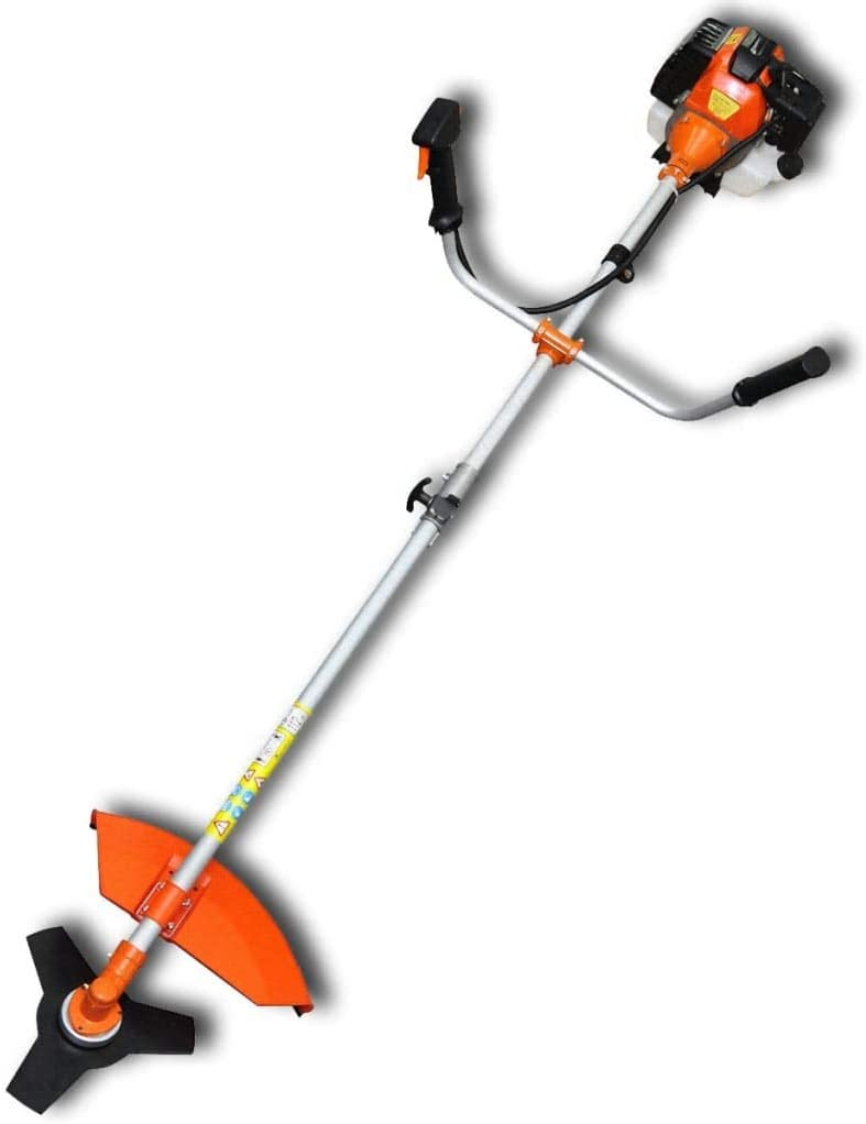 Desbrozadora Cortadora de Césped 52 cc Naranja 2,2 kW: Amazon.es: Hogar