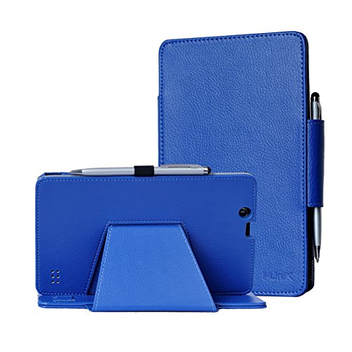 i-UniK CASE for E FUN Nextbook Ares 8 (NXA8QC116) Compatible Ares 8A (NX16A8116K) Touchscreen Tablet with Bonus Stylus (Navy - Case Nextbook 8 Inch