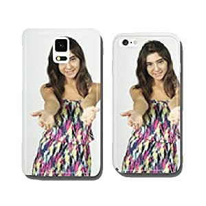 Beautiful girl in a summer dress. cell phone cover case iPhone6