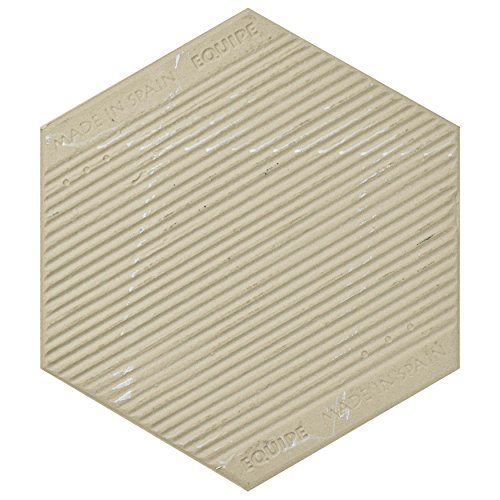 SomerTile FEQ8BXG Murmur Bardiglio Hexagon Porcelain Floor and Wall Tile, 7'' x 8'', Geo by SOMERTILE (Image #7)
