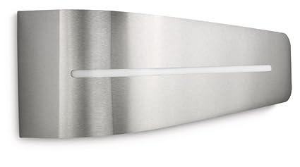 Philips breeze lampada da parete per esterno argento philips