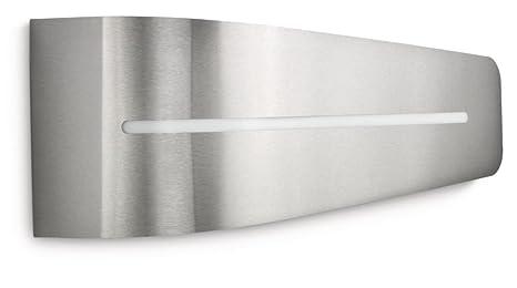 Lampade Da Parete Per Esterni : Philips breeze lampada da parete per esterno argento philips