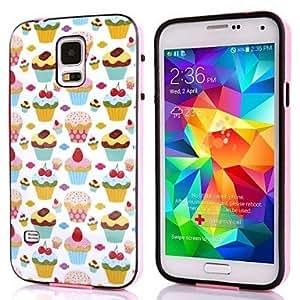 YULIN Teléfono Móvil Samsung - Cobertor Posterior/Contra Golpes - Diseño Especial - para Samsung S5 i9600 ( Multi-color , Plástico )