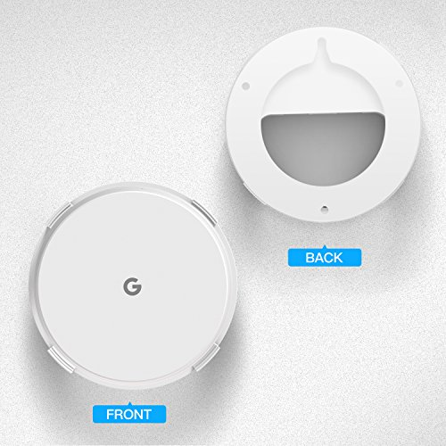 Myriann Wall Mount Holder Wall Mount Stand Ceiling Bracket (3 Pack)For Google Wifi , White