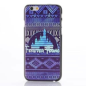 SOL Ethnic Style Stripe Design Pattern Plastic Hard Back Cover for iPhone 6 Plus