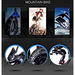 AISHFP-Mountain-Bike-elettrica-Pieghevole-per-Adulti-Bici-da-Neve-350W-Batteria-Rimovibile-agli-ioni-di-Litio-36V-10AH-per-26-Pollici-a-Sospensione-Completa-Premium