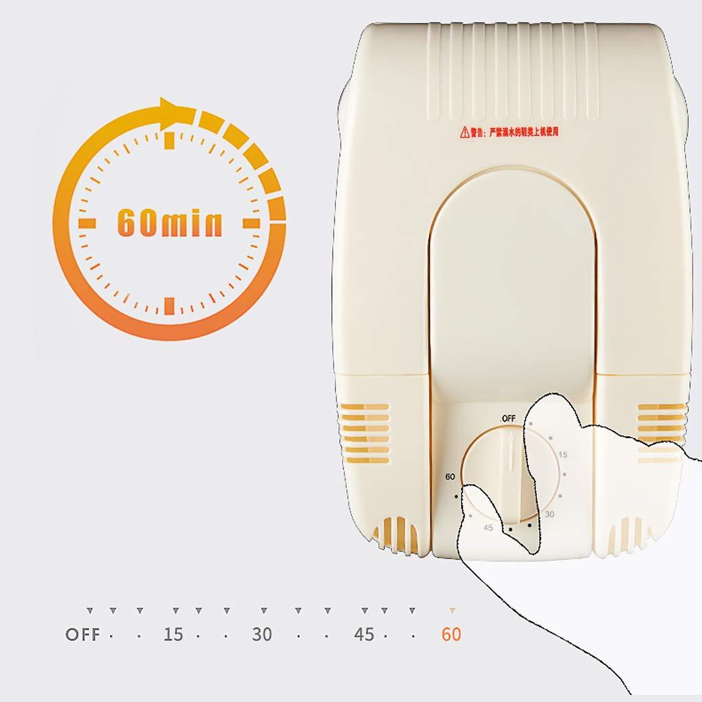 Calzado de secado Desodorante Calzado para el hogar Secador de zapatos Máquina Máquina Calzado para niños Calentamiento de esterilización Cronometraje de ...