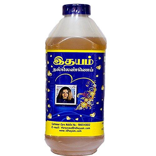 Idhayam Gingelly/Sesame Oil 1 Litre by Idhayam (Image #1)
