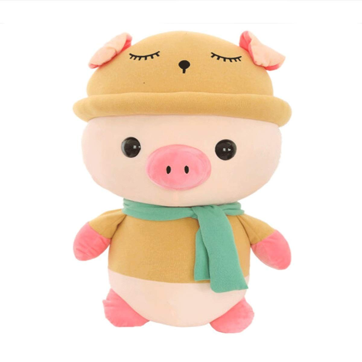 Yellow 35cm Yellow 35cm 8haowenju Plush Toys, Cute Plush Toy Pigs, Doll Sleeping Pillows, Birthday Gifts Festival Gifts, Pig Year Mascots, Annual Gifts, Multiple colors and Sizes, Best Gifts Latest Models