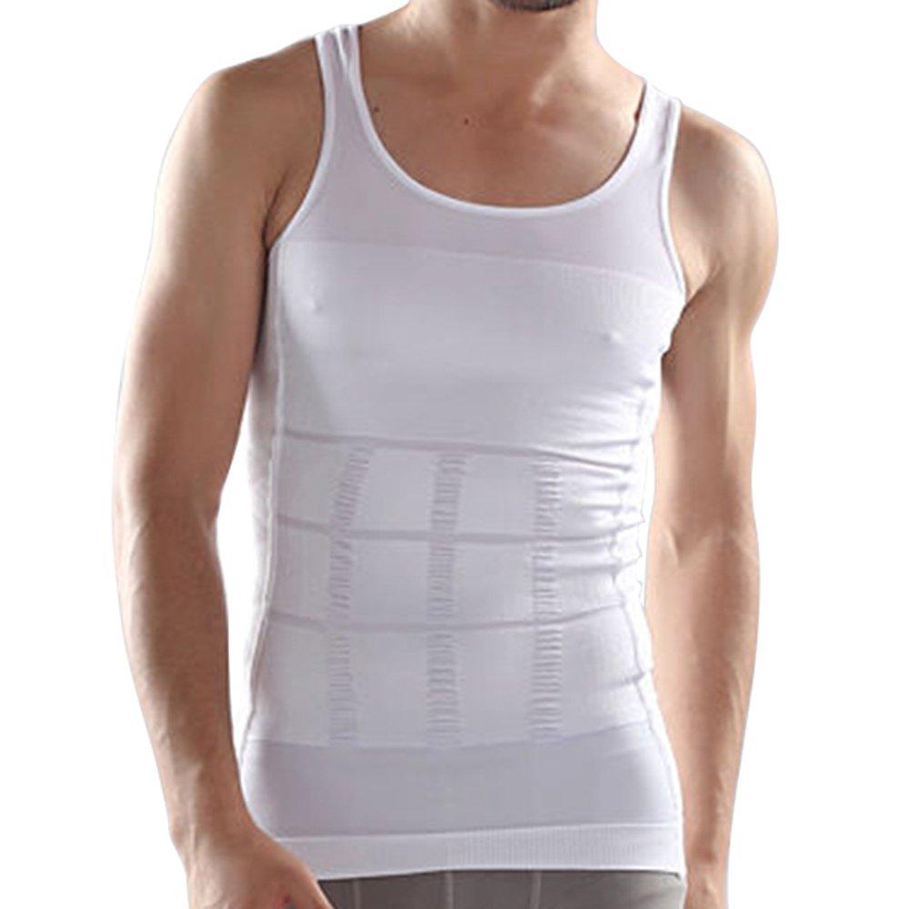 MABOOBIE Slimming Body Shaper Tummy Waist Magic Compression Muscle Shirt Undershirt