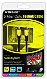Xtreme 73506  6-Feet Fiber Optic Toslink Cable Connect Any Audio System to Your HDTV