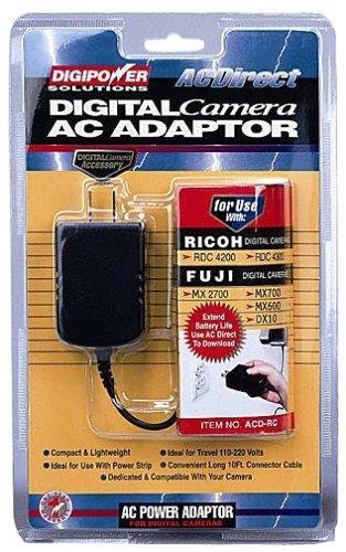 Digipower ACD-RC AC Power Supply for select Canon, Fujifilm, Kodak, Konica/Minolta, Kyocera, Olympus, Pentax, Ricoh and Toshiba Digital (Digipower Supply)