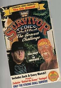 Amazon.com: WWF: Survivor Series: 5th Annual VHS: Movies ...