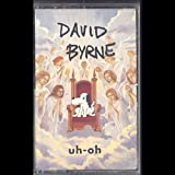 David Byrne: Uh-Oh Cassette VG++ USA Sire 9 26799-4 Red cassette