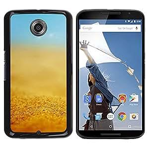 Pulsar Snap-on Series Teléfono Carcasa Funda Case Caso para Motorola Google NEXUS 6 / XT1100 , Estate Blue Sky