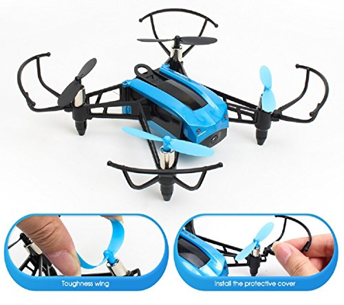 TOYEN Mini Drone with 720P Camera, Headless Mode RC Drone for Beginners, WiFi Transmission RC Quadcopter, FPV Drone with Altitude Hold, 3D Flips Remote Control Drone, Drone for Kids and Adult with APP