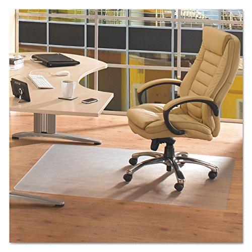 Floortex Phthalate-Free PVC Chairmat for Hard Floors, 45' x 53', Rectangular, Clear (FRPF1213425EV)