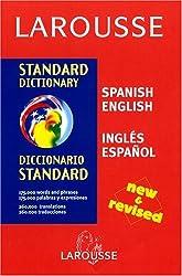 Larousse Standard Dictionary: Spanish-English / English-Spanish (Spanish Edition)