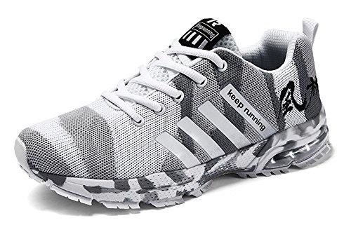JIYE Athletic Shoes Men's Women's Outdoor Casual Jogging Walking Fashion Sneaker