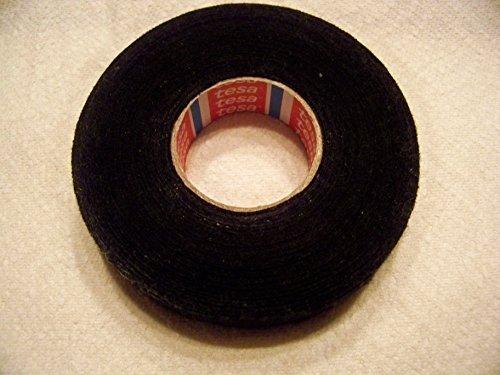 Fleece Wire Harness Fuzzy Tape : Rolls tesa black fuzzy fleece interior wire loom harness