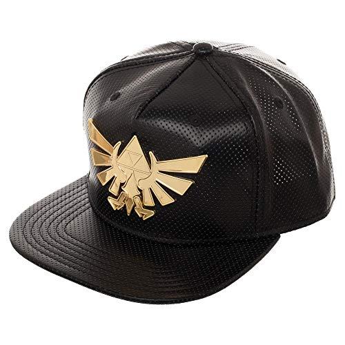 Legend of Zelda Gold Metal Logo Snapback Hat
