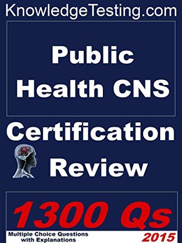Public Health Certified Nurse Specialist (Certification in Public Health Nursing Book 1) Pdf