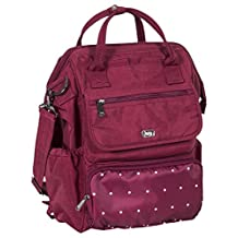 Lug Women's Via Tote Backpack, Dot Cranberry, One Size