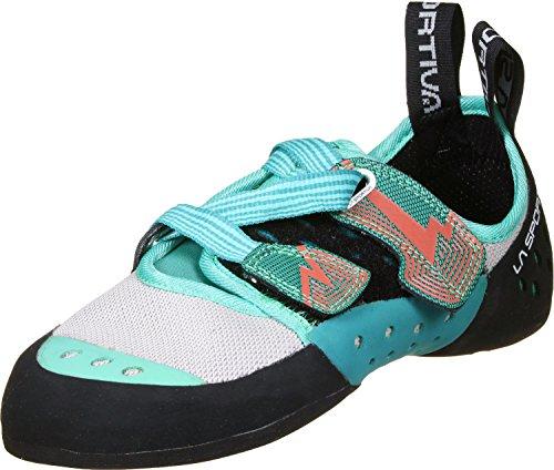 La Sportiva Oxy Gym W Zapatos de escalada turquesa gris
