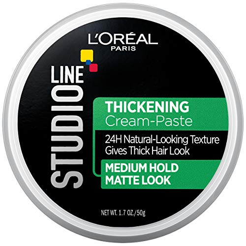 L'oreal Paris Hair Care Studio Line Thickening Medium Hold Cream Paste, 1.7 Ounce