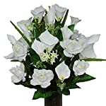 White-Rose-and-Calla-Lily-Mix-Artificial-Bouquet-featuring-the-Stay-In-The-Vase-Designc-Flower-Holder-MD1146
