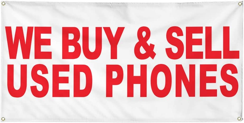 Vinyl Banner Multiple Sizes Sale Outdoor Advertising Printing R Business Outdoor Weatherproof Industrial Yard Signs Red 8 Grommets 48x96Inches