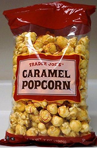 Trader Joe's Caramel Popcorn 7 OZ (198 g) - Sweet & Crunchy Caramel Coated Popcorn
