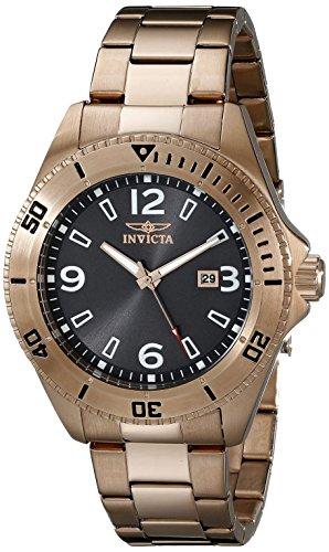 Invicta Men's 16332 Pro Diver Analog Display Japanese Quartz Rose Gold Watch