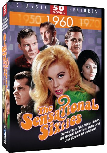 Sensational Sixites - 50 Movie Set by Mill Creek