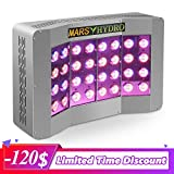 MARS HYDRO Led Grow Light 600W CREE LED Grow Lights Full Spectrum for Indoor Plants High Yield Veg and Flower Hydroponics Plants Growing Light with High Par Value PPFD (Pro II CREE 600W)
