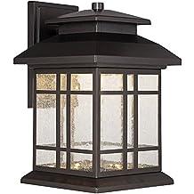 "Designers Fountain LED33421-ORB Piedmont 6"" LED Wall Lantern"
