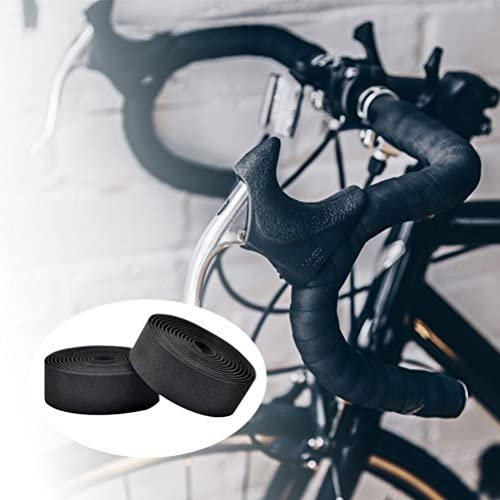 VELO Wrap Mountain MTB Road Bike Handlebar Bar Tape /& Plugs Brown Holes