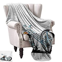Features:- Super soft, luxurious and warm blankets will soon become a family favorite.- Keep you comfortable on the coldest days, the hottest days of winter or spring and summer.- The blankets are large enough to be used as part of bedding an...