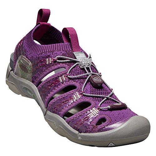 Keen - Women's EVOFIT ONE Water Sandal for Outdoor Adventures, Grape Kiss/Grape Wine, 11 M US