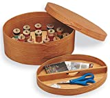 Shaker Oval Sewing Box